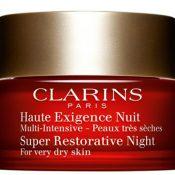 Clarins-Super-Restorative-Night-Wear,-£76,-John-Lewis