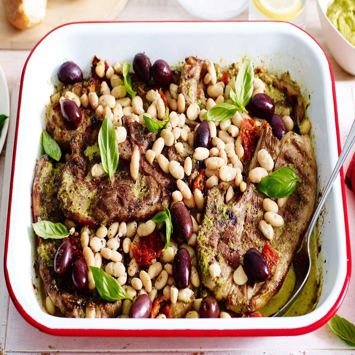 lamb-tray-bake-with-pesto-tomatoes-and-olives-103496-1