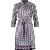 IMAGE-5---Ladies-Geometric-Shirt-Dress---womens-fashion-