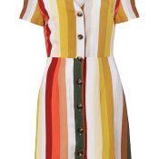 IMAGE-7---Ladies-Buttoned-Mini-Dress---womens-fashion--