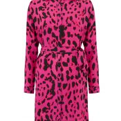 IMAGE-7-_-Ladies-Pink-Shirt-Dress---Womens-Fashion--