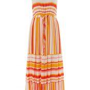 IMAGE-9---Ladies-Orange-Stripe-Maxi-Dress---womens-fashion--