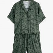IMAGE-4---Green-Leopard-Print-Playsuit,-Hush-