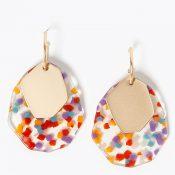 IMAGE-7---Rainbow-Drop-Earrings,-Marks-&-Spencer-