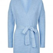 IMAGE 2 - Baby Blue Belted Cardigan