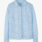 IMAGE 3 - Baby Blue Broderie Blouse
