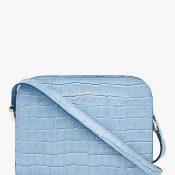 IMAGE 8 - Baby Blue Cross Body Croc Bag