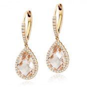 IMAGE-1---Rose-Gold--Morganite-&-Diamond-Earrings,-£1750