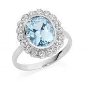 IMAGE-2---Platinum-2.58-Carat-Aquamarine-&-Diamond-Ring,--£1895